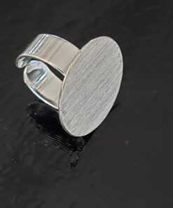 Silver Ring Blank