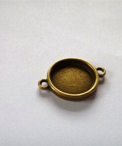 Bezel Antique Brass for Bracelet Making