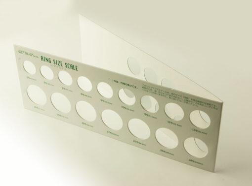 Cardboard Ring Sizer