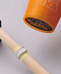 Drying a ring on a wooden mandrel