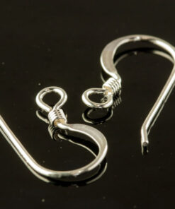 Silver Earring Hook