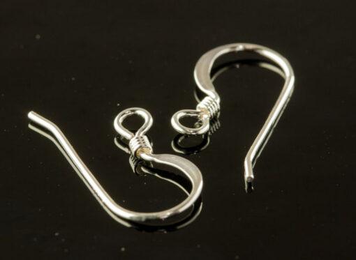 Silver Earring Hook
