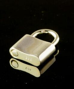 Silver Padlock Clasp sv925