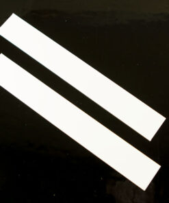 Plastic Strips PAIR 1.5mm Thick (White) (AF0007)