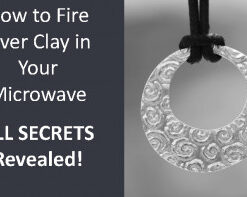 Fire Silver Clay in Your Microwave - All Secrets Revealed