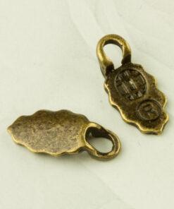 Earring Bails Bronze Colour