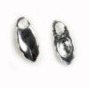 Earring Bails Silver Colour